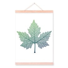 Vayne Dried Maple Leaf Hanging Scroll Painting from ObJae