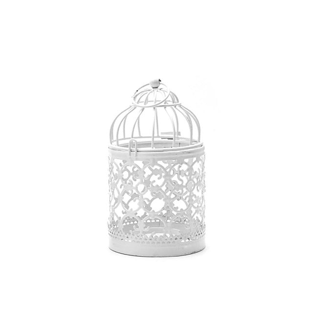 Hanging Birdcage Candle Holder from ObJae