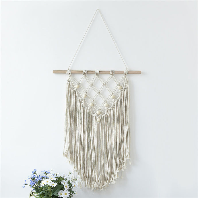 Shanti Macramé Latticework Wall Hanging from ObJae