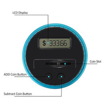 Electronic USD Coin-Counting Bank from ObJae