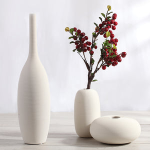 Twilled Ceramic Vase from ObJae
