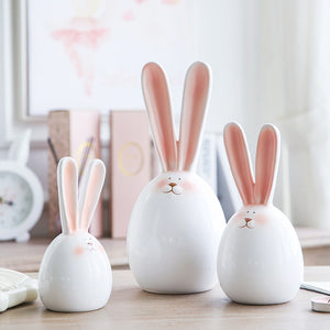 Ceramic Rabbit Doll from ObJae