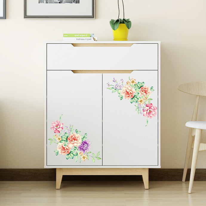 Flourishing Peony Wall Stickers from ObJae