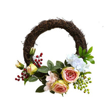 Artificial Handmade Rose Wreath (5 variants) from ObJae