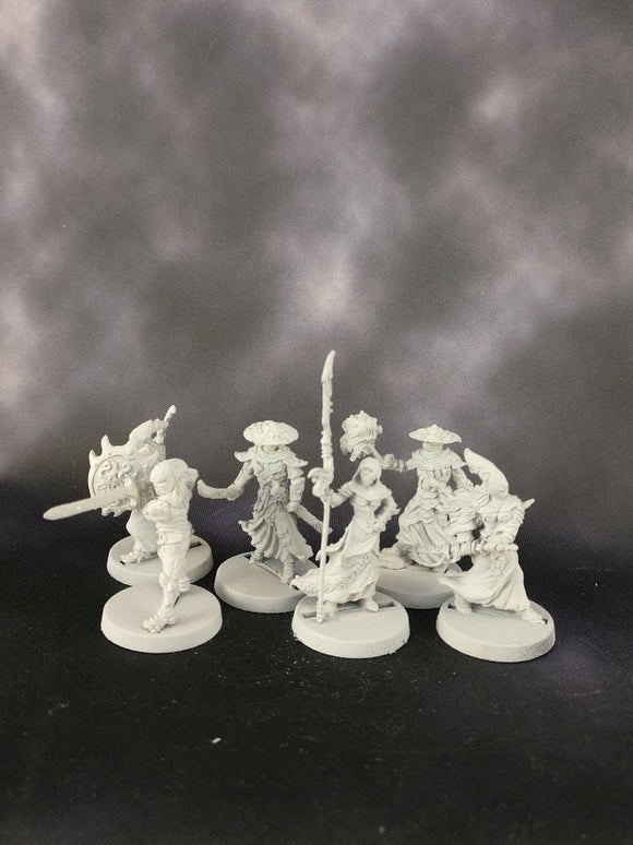 Samurai Elves (Set of 6)