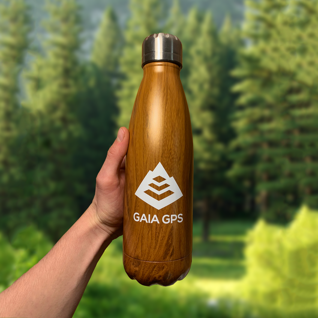 Gaia GPS Rockit BPM Insulated Bottle (17 oz)