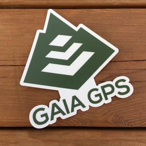 Gaia GPS Mountain Sticker