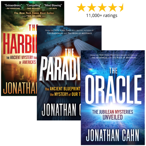 THE CAHN BUNDLE : Three Jonathan Cahn Bestsellers for One Low Price!
