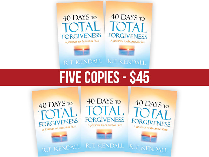 40 Days to Total Forgiveness : FIVE Book Bundle