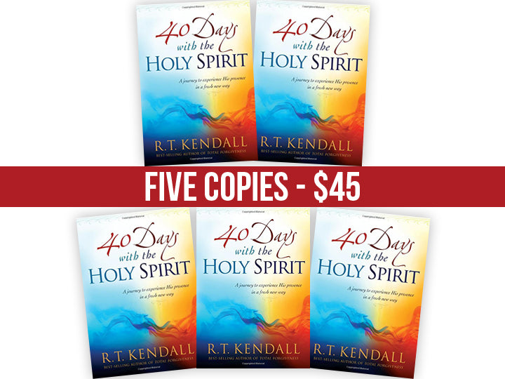 40 Days With the Holy Spirit : FIVE Book Bundle