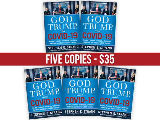 God, Trump, and COVID-19 - FIVE Book Bundle