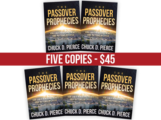 The Passover Prophecies : FIVE Book Bundle