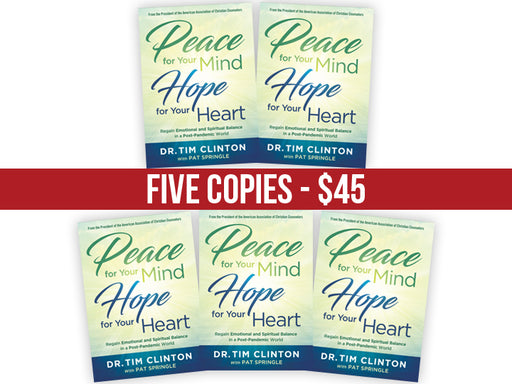 Peace for Your Mind, Hope for Your Heart : FIVE Book Bundle