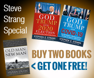 "Strang 3-Book Offer (PRE-ORDER ""God, Trump, and COVID-19"" NOW) : BUY TWO BOOKS, GET THIRD ONE FREE"
