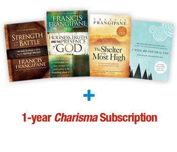 Frangipane Bundle : FREE BONUS! 1-Year Charisma Subscription