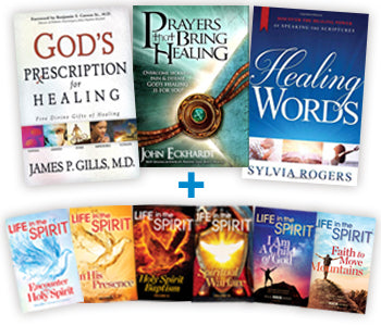 Healing Bundle : FREE BONUS! Holy Spirit Series + Solid Rock Series