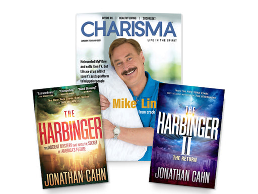 Charisma + FREE BOOKS! The Harbinger + The Harbinger II : Print Magazine Subscription