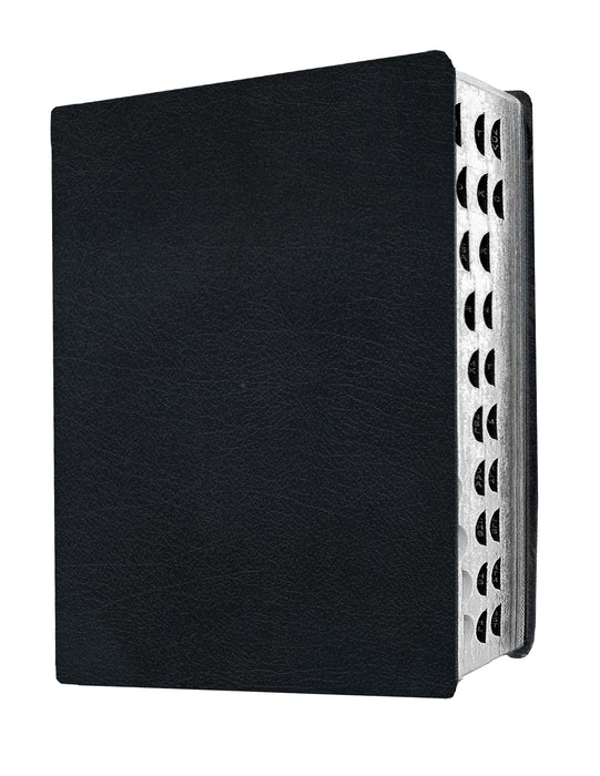 MEV Bible Giant Print Black Indexed : Modern English Version