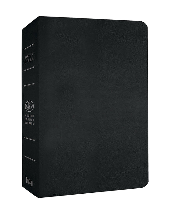 MEV Black Giant Print Bible : WITH FREE GIFTS