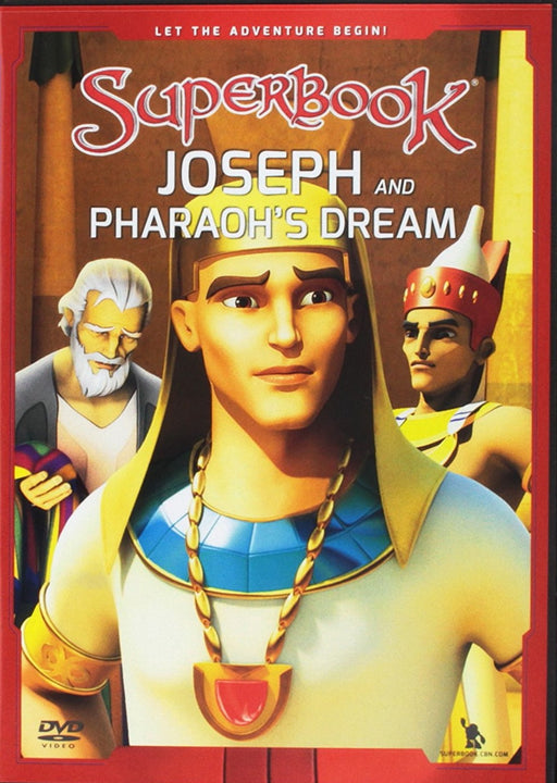Superbook DVD - Joseph and Pharoah's Dream