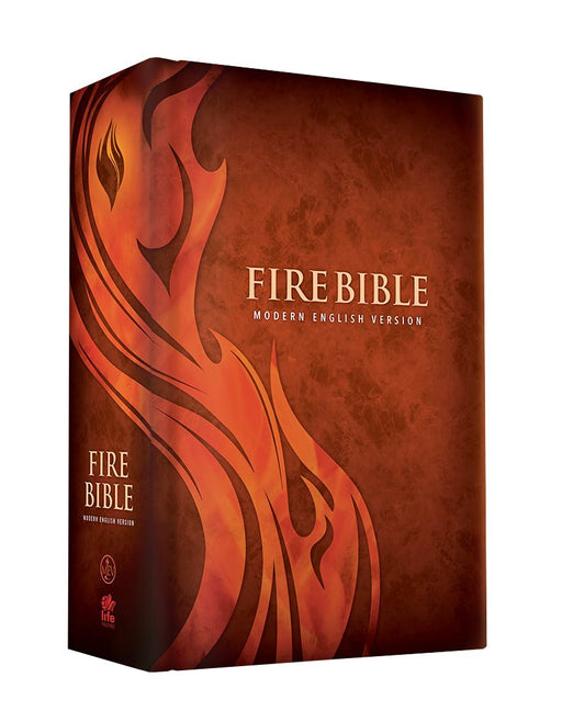 All charisma house mev fire bible hardcover modern english version fandeluxe Choice Image