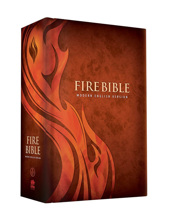 MEV Fire Bible - Hardcover : Modern English Version