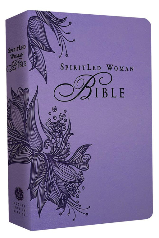 MEV Bible SpiritLed Woman Lavender Leatherlike : Modern English Version