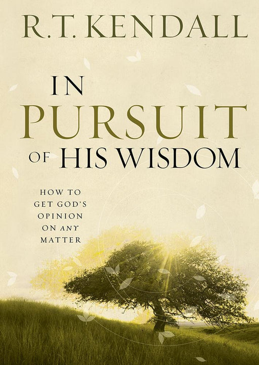 In Pursuit of His Wisdom : How to get God's Opinion on any Matter