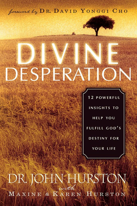 Divine Desperation : 12 Powerful Insights to Help You Fulfill God's Destiny for Your Life