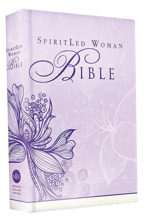 MEV Bible SpiritLed Woman Lavender Casebound : Modern English Version