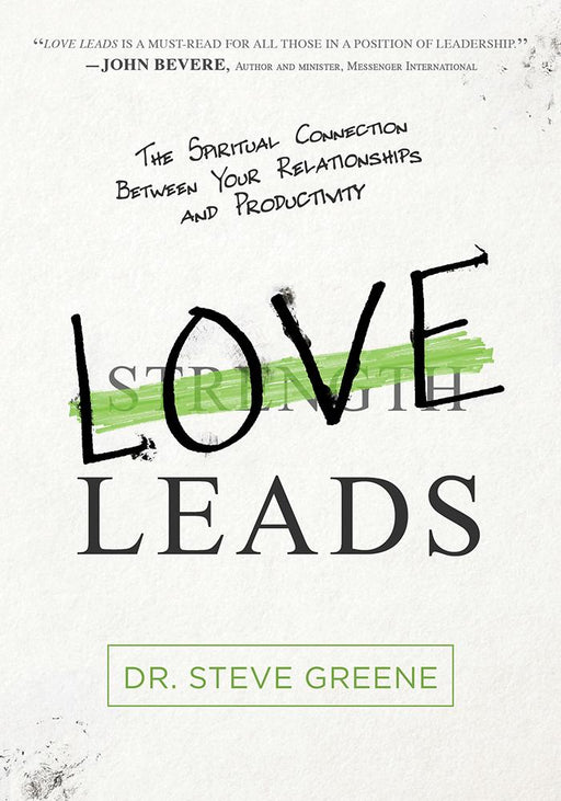 Love Leads : The Spiritual Connection Between Your Relationships and Productivity