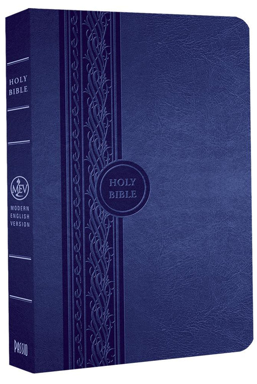 MEV Bible Thinline Reference Blue : Modern English Version