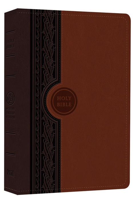 MEV Bible Thinline Reference Chestnut and Brown : Modern English Version