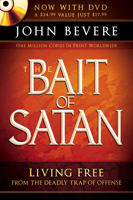 The Bait of Satan (Book with DVD) : Living free from the deadly trap of offense