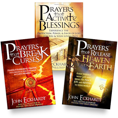 Prayers That Activate Blessings + Prayers That Break Curses + Prayers That Release Heaven On Earth