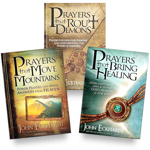 Prayers That Bring Healing + Prayers That Move Mountains + Prayers That Rout Demons