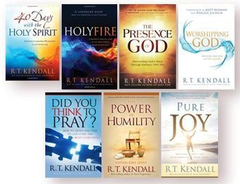 R.T. Kendall 7 Book Offer : FREE BONUS! Holy Spirit Series + Solid Rock Series