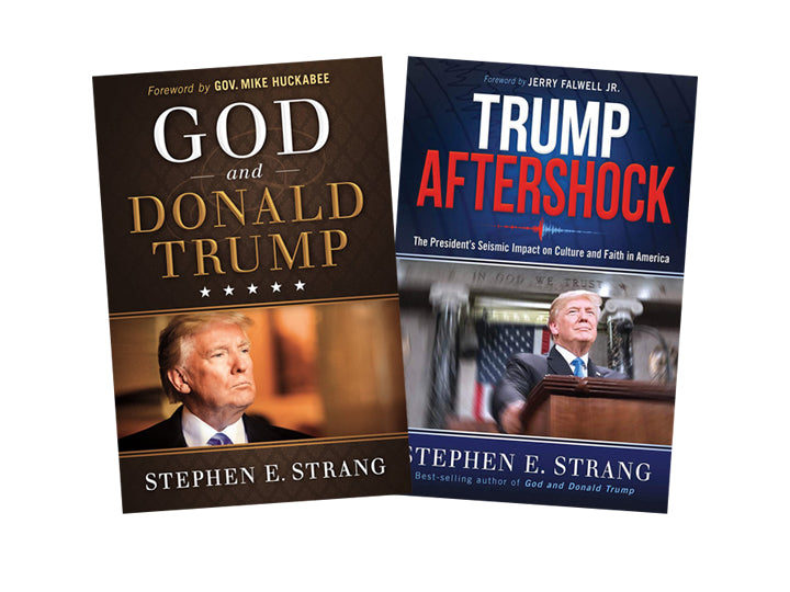 Trump Book Bundle #1 : God and Donald Trump / Trump Aftershock