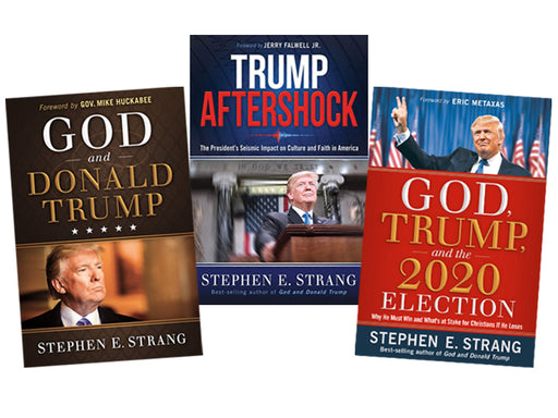Trump Book Bundle #3 : God and Donald Trump / Trump Aftershock / God, Trump, and the 2020 Election