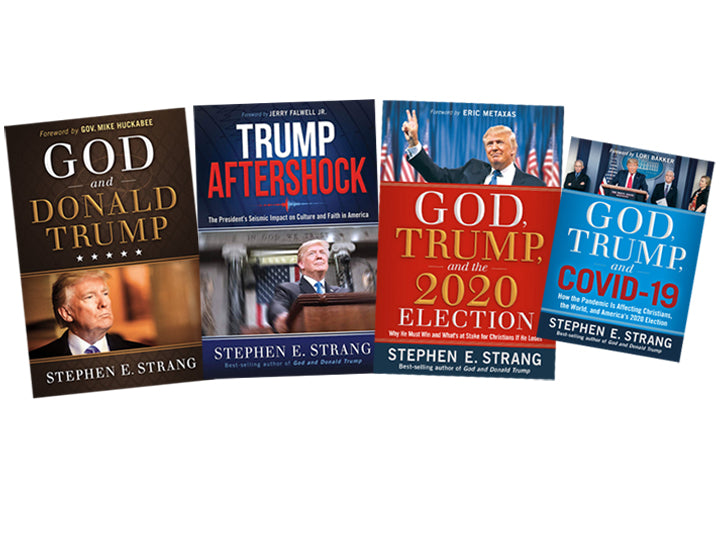 Trump Book Bundle #4 : God and Donald Trump / Trump Aftershock / God, Trump, and the 2020 Election / God, Trump, and COVID-19