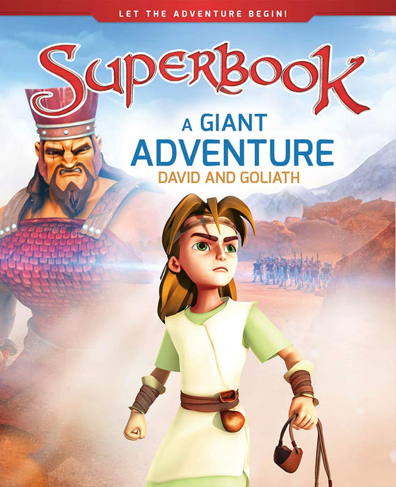 Superbook - A Giant Adventure (Book) : David and Goliath