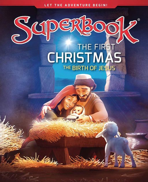 Superbook - The First Christmas (Book) : The Birth of Jesus