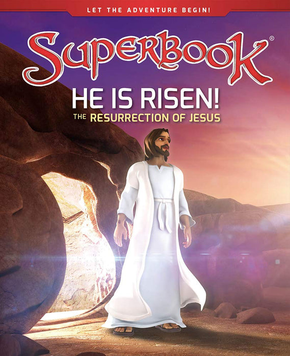 Superbook - He Is Risen! (Book) : The Resurrection of Jesus