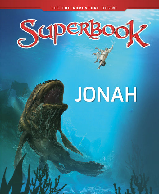Superbook - Jonah (Book)