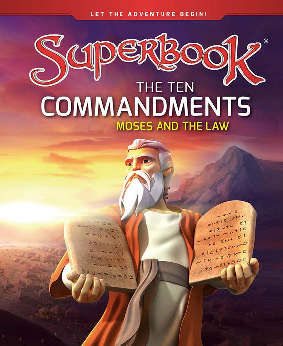 Superbook - The Ten Commandments (Book) : Moses and the Law