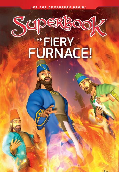 Superbook - The Fiery Furnace! (Book)