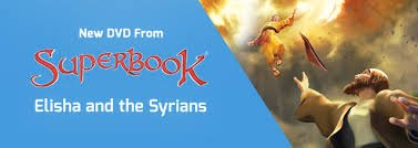 Superbook DVD - Elisha and the Syrians