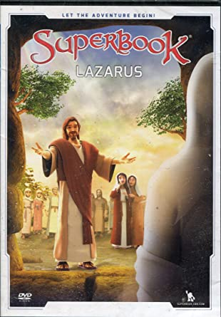 Superbook DVD - Lazarus