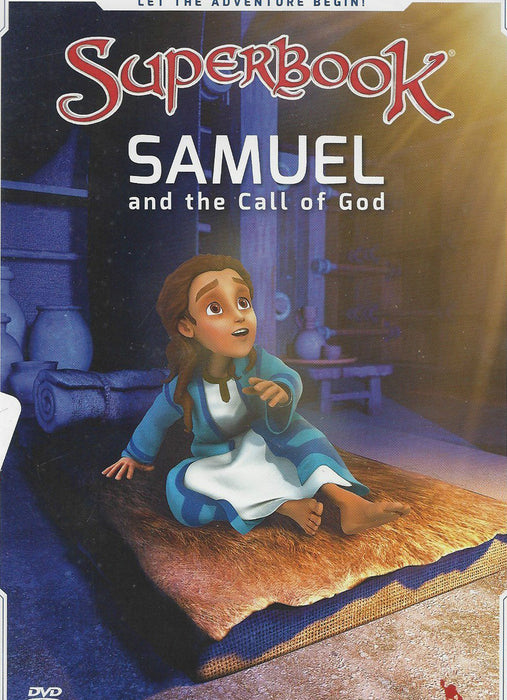Superbook DVD - Samuel and the Call of God