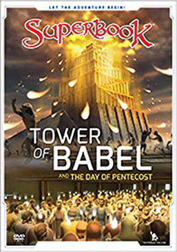 Superbook DVD - Tower of Babel : And the Day of Pentecost